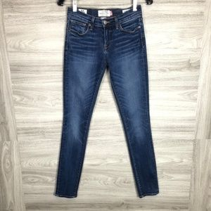 Lucky Brand 2/26 Ankle Brooke Skinny White Oak